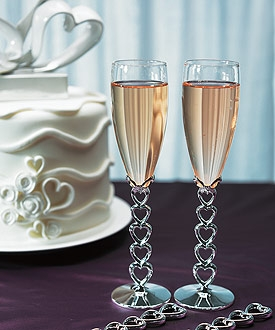 flute a champagne coeur
