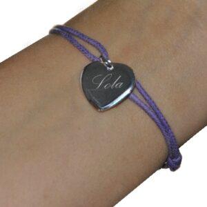 bracelet coeur femme