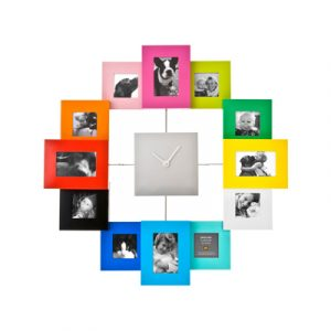 horloge photos family time