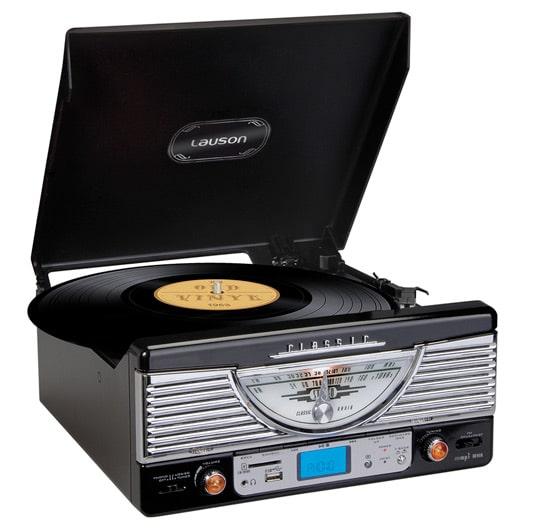 radio tourne disque classique