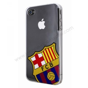coque iphone 4 crystal barca
