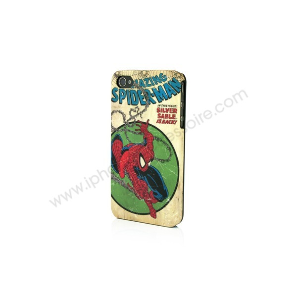 coque iPhone 4/4s Spider Man collector