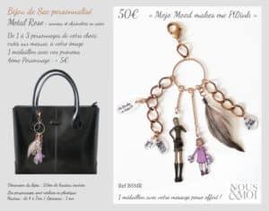 bijou de sac Nous et Moi